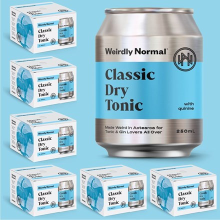 Weirdly Normal classic tonic water 4*250ML cans Weirdly Normal classic tonic water 4*250ML cans