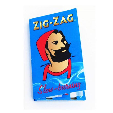 ZIG ZAG BLUE CIGARETTE PAPERS ZIG ZAG BLUE CIGARETTE PAPERS
