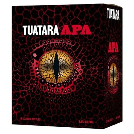 TUATARA APA 5.6%, 6*330ML BTLS TUATARA APA 5.6%, 6*330ML BTLS