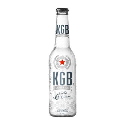 KGB lemon ice 5%, 4*275ml bottles KGB lemon ice 5%, 4*275ml bottles