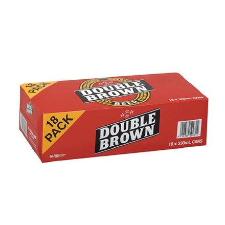 Double Brown 18*330 ML Double Brown 18*330 ML