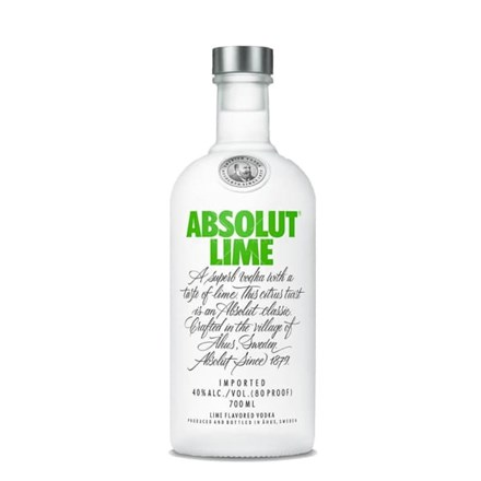 ABSOLUT LIME 40%, 700ML ABSOLUT LIME 40%, 700ML