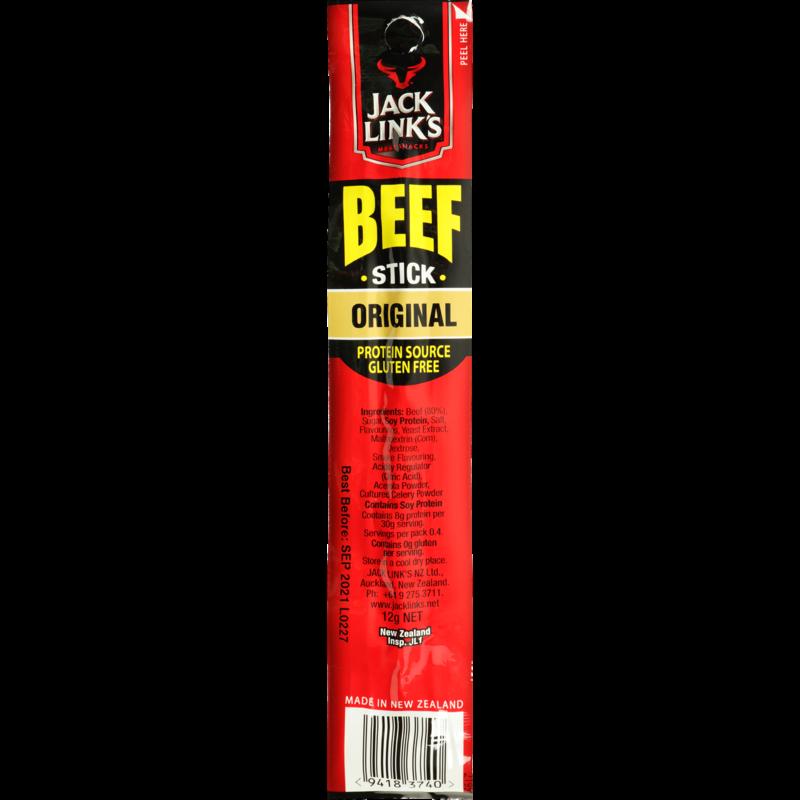 JACK LINK'S ORIGINAL BEEF STICK 12G JACK LINK'S ORIGINAL BEEF STICK 12G