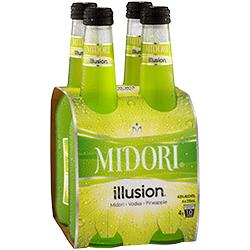 Midori Illusion 4 pack, 275 Ml bottles Midori Illusion 4 pack, 275 Ml bottles