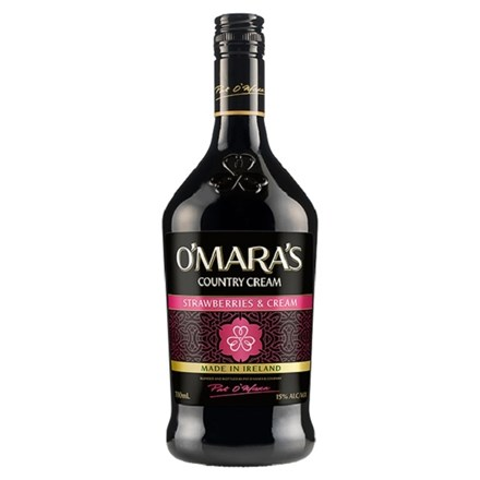 O'MARA'S STRAWBERRIES & CREAM 13.9%, 700ML O'MARA'S STRAWBERRIES & CREAM 13.9%, 700ML
