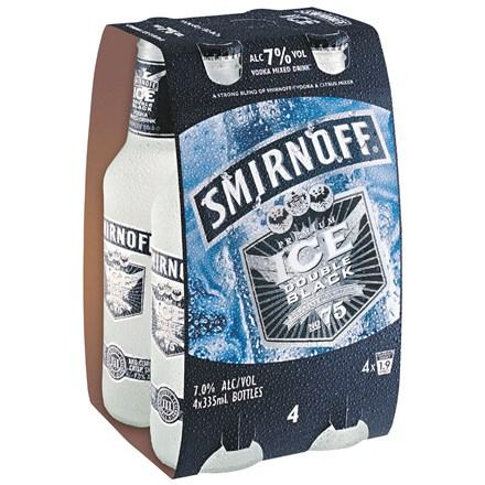 Smirnoff 7% 4*330ML Bottles Smirnoff 7% 4*330ML Bottles