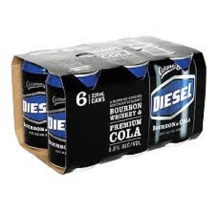 Diesel 6pack cans 7% 330ml Cans Diesel 6pack cans 7% 330ml Cans