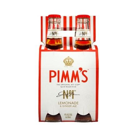 PIMM'S LEMONADE AND GINGER ALE 4PK PIMM'S LEMONADE AND GINGER ALE 4PK