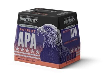 MONTEITHS APA 12 PACK 330ML BOTTLES MONTEITHS APA 12 PACK 330ML BOTTLES