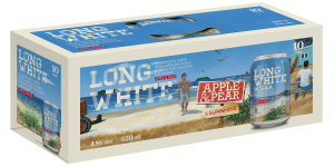 Long white Apple & Pear 10*320ML Cans Long white Apple & Pear 10*320ML Cans