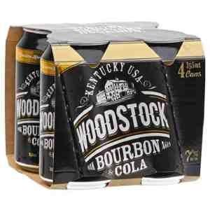 WOODSTOCK 7% 4PK 355ML CANS WOODSTOCK 7% 4PK 355ML CANS