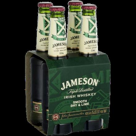 JAMESON  SMOOTH DRY 5%, 4*333 ML BTLS JAMESON  SMOOTH DRY 5%, 4*333 ML BTLS