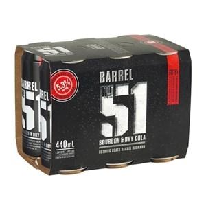 BARREL 51 5.0% 6PK 440ML BARREL 51 5.0% 6PK 440ML