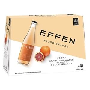 EFFEN BLOOD ORANGE 10PK BOTTLES EFFEN BLOOD ORANGE 10PK BOTTLES