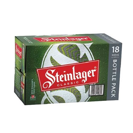 STEINLAGER 18 PACK 330ML BOTTLES STEINLAGER 18 PACK 330ML BOTTLES