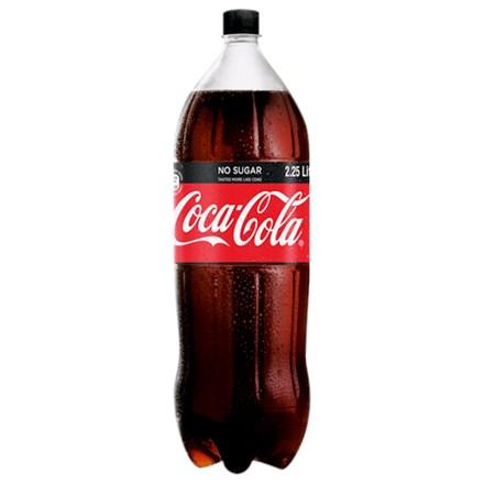 Coke no sugar 2.25L Coke no sugar 2.25L