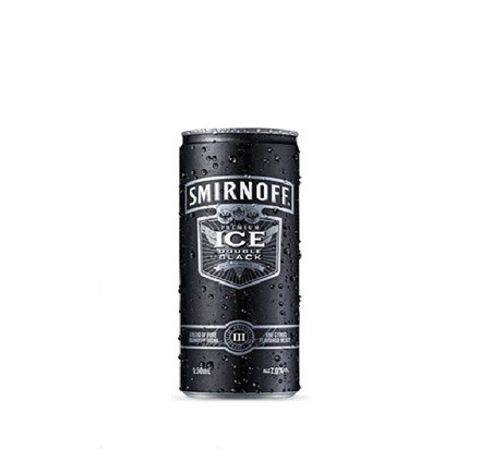 SMIRNOFF ICE BLACK 7% 4*250ML CANS SMIRNOFF ICE BLACK 7% 4*250ML CANS
