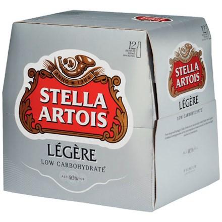 Stella Legere 12 pack 330ml bottles Stella Legere 12 pack 330ml bottles