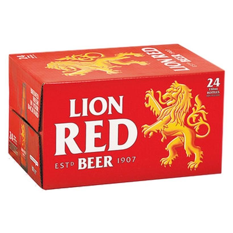 LION RED 24PK BTLS LION RED 24 PK BTL