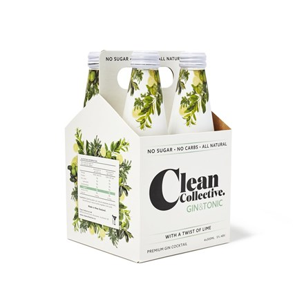 Clean collective twist of lime 4 pack 330ml bottles. Clean collective twist of lime 4 pack