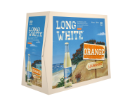 Long white Orange 10*320ML BTLs Long white Orange 10*320ML BTLs