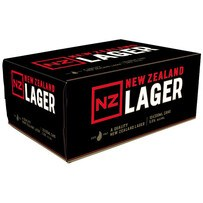 NZ LAGER 12*330 ML CANS NZ LAGER 12*330 ML CANS