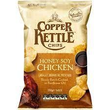 COOPER KETTLE HONEY SOY CHICKEN 150G COOPER KETTLE HONEY SOY CHICKEN 150G