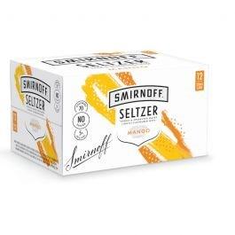 SMIRNOFF SELTZER MANGO 5%,12*250ML CANS SMIRNOFF SELTZER MANGO 5%,12*250ML CANS