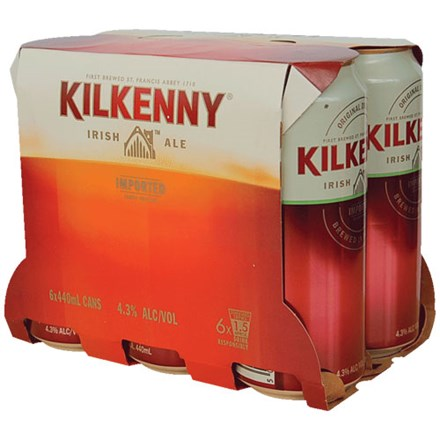 KILKENNEY 6*440ML CANS KILKENNEY 6*440ML CANS