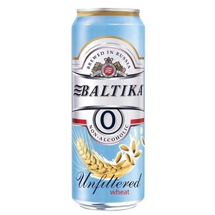 BALTIKA UNFILTERED 450 ML NON ALC BALTIKA UNFILTERED 450 ML NON ALC