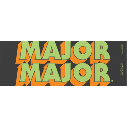MAJOR MAJOR WHISKY AND APPLE 6%, 10*330ML CANS MAJOR MAJOR WHISKY AND APPLE 6%, 10*330ML CANS