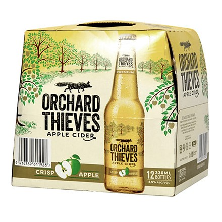 ORCHARD THIVES LOW CARB APPLE CIDER 12 PACK ORCHARD THIVES LOW CARB APPLE CIDER 12 PACK