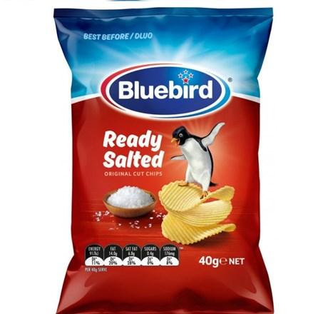 Blue bird origional Ready Salted 15g Blue bird origional Ready Salted 15g