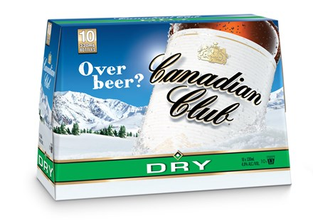 Canadian club 10 pack bottles Canadian club 10 pack bottles
