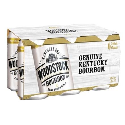 WOODSTOCK 7% ZERO 330ML 6PK CANS WOODSTOCK 7% ZERO 330ML 6PK CANS