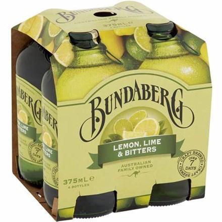 Bundaberg lemon, lime and betters 4*375ML Bundaberg lemon, lime and betters 4*375ML