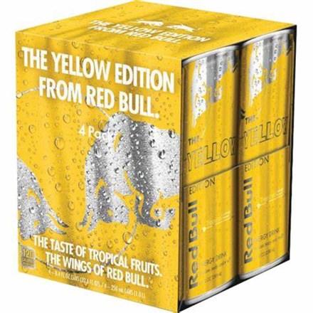 Red bull tropical 4*250ML cans Red bull tropical 4*250ML cans