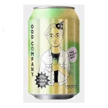 Odd company lemon, lime and yuzu 5%, 10*330ML cans Odd company lemon, lime and yuzu 5%, 10*330ML cans