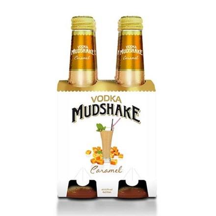 Mudshake Caramel 7%, 4*270ML bottles Mudshake Caramel 7%, 4*270ML bottles