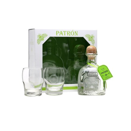 PATRON GIFT PACK TWO GLASSES PATRON GIFT PACK TWO GLASSES