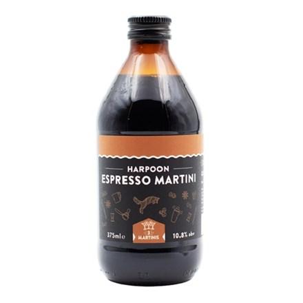 HARPOON ESPRESSO MARTINI 10.8 % 375ML bottle HARPOON ESPRESSO MARTINI 10.8 % 375ML bottle