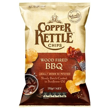 COPPER KETTLE WOOD FIRED BBQ 150G COPPER KETTLE WOOD FIRED BBQ 150G