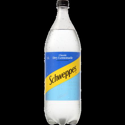 Schweppes dry lemonade 1.5L Schweppes dry lemonade 1.5L