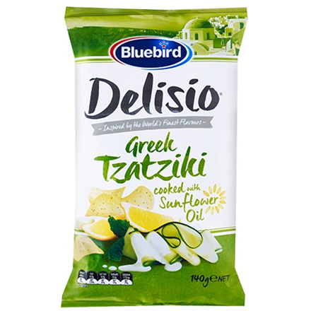 DELISIO GREEK TZATZIKI 140G DELISIO GREEK TZATZIKI 140G