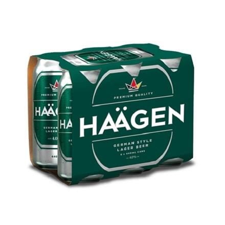 HAAGEN 6*440ML CANS HAAGEN 6*440ML CANS