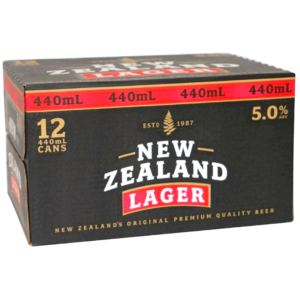 NZ LAGER 12*440ML CANS NZ LAGER 12*440ML CANS
