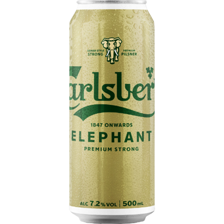 CARLSBERG ELEPHANT 7.2% 500ML CARLSBERG ELEPHANT 7.2% 500ML