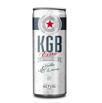 KGB Lemon ice 7% 4*250ml cans KGB Lemon ice 7% 4*250ml cans