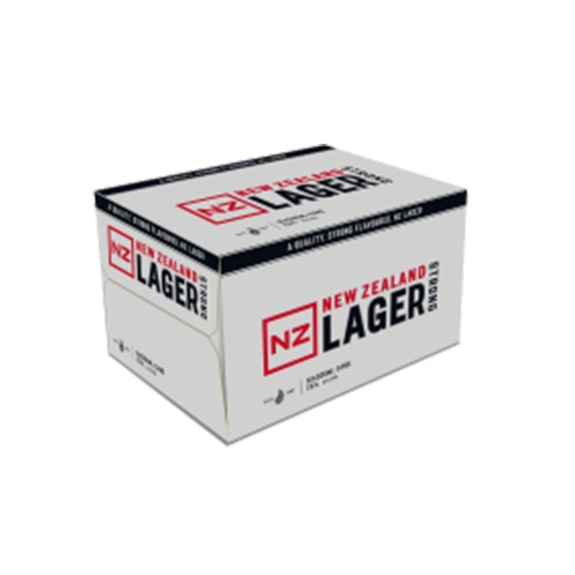 NZ LAGER 7% 12PK 500ML CAN NZ LAGER 7% 12PK 500ML CAN