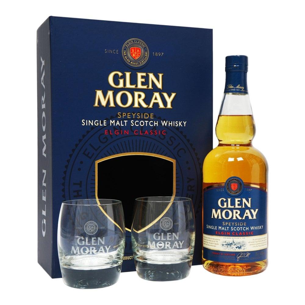GLEN MORAY GIFT PACK 2 GLASSES GLEN MORAY GIFT PACK 2 GLASSES